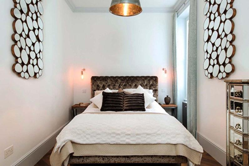 дизайн узкой спальни 50 фото красивые идеи интерьеров