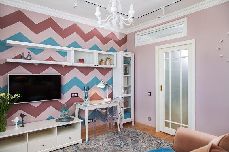 Дизайн гостиной 17 кв.м. - Мебель