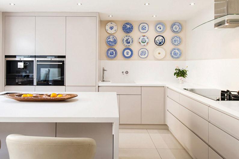 Дизайн угловой кухни - Особенности