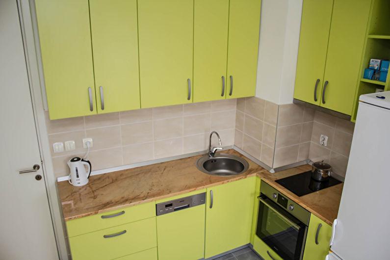 Дизайн угловой кухни - Угловой вентиляционный короб