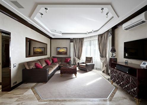 «В рамках стиля»: Квартира в Москве