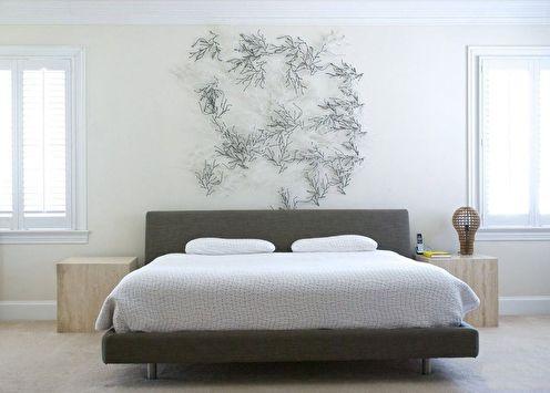 Спальня в стиле минимализм (+80 фото)