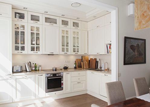 Угловые кухни: 80 фото-идей