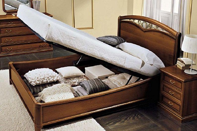 Виды односпальных кроватей - Кровать с подъемным механизмом