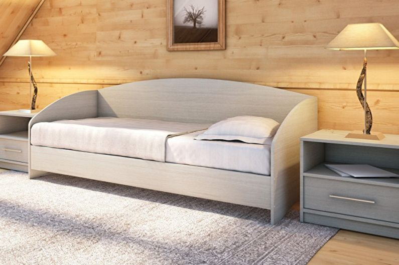 Виды односпальных кроватей - Кровать-софа