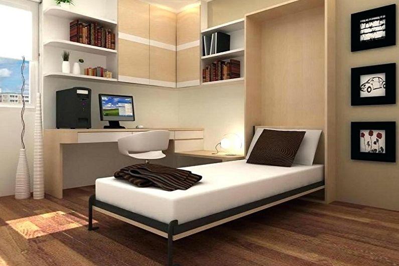 Виды односпальных кроватей - Односпальная кровать-трансформер