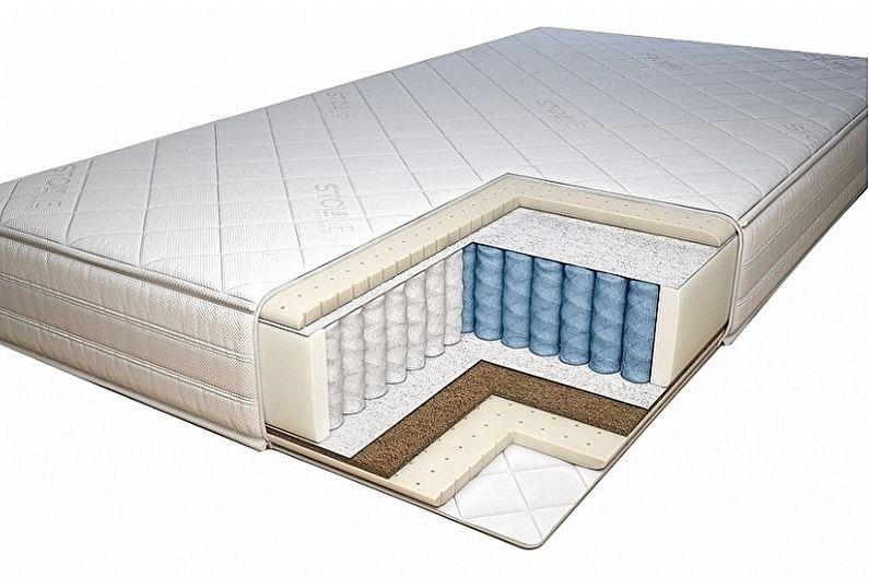 Односпальная кровать - Выбираем матрас