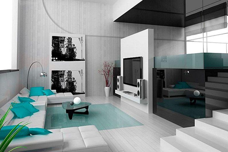 Дома в стиле хай-тек - Дизайн интерьера