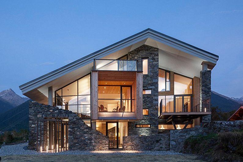 Дома в стиле шале - Особенности