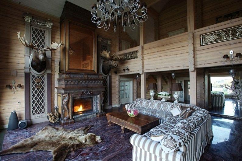 Дома в стиле шале - Идеи оформления интерьеров в стиле шале