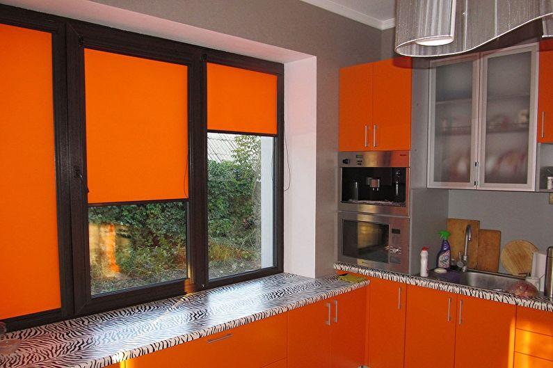 Занавески на кухню - Какой цвет выбрать