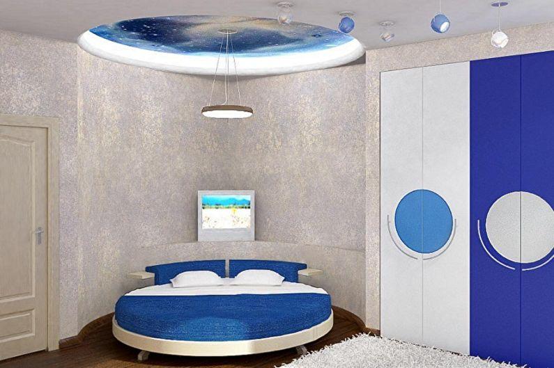 Виды круглых кроватей в спальню - Круглая кровать в детскую
