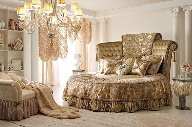 Круглая кровать в спальню в разных стилях - Восточный стиль