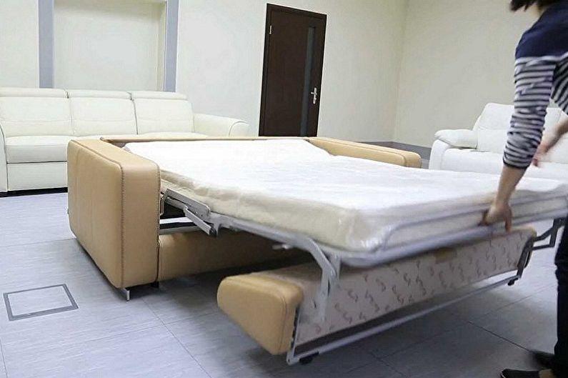 Как выбрать диван с ортопедическим матрасом - Технические моменты