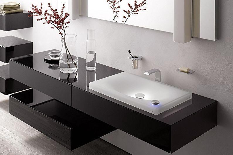 Настенные подвесные раковины для ванной комнаты