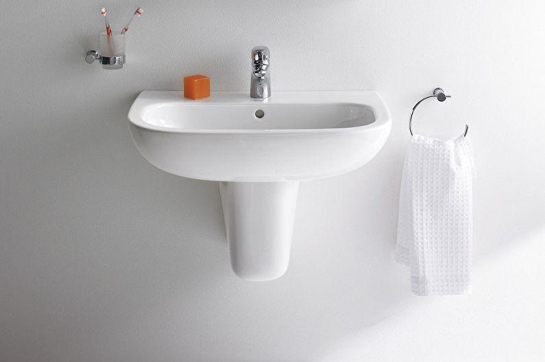 Тюльпанообразные раковины для ванной комнаты