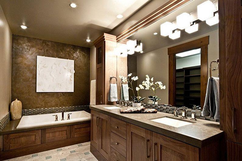 Встроенные раковины для ванной комнаты