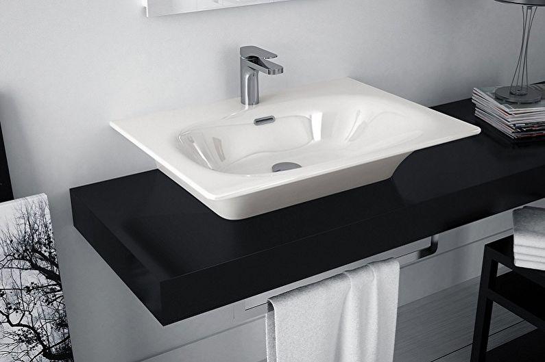 Керамические раковины для ванной комнаты