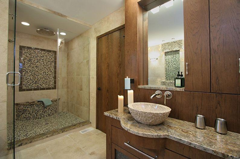 Раковина для ванной комнаты - Натуральный камень и его имитация