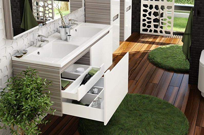 Раковина для ванной комнаты - Комбинация из нескольких моек