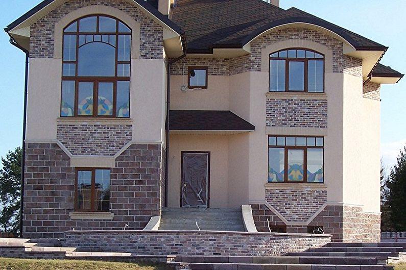 Проект домов из кирпича двухэтажные фото поздравления