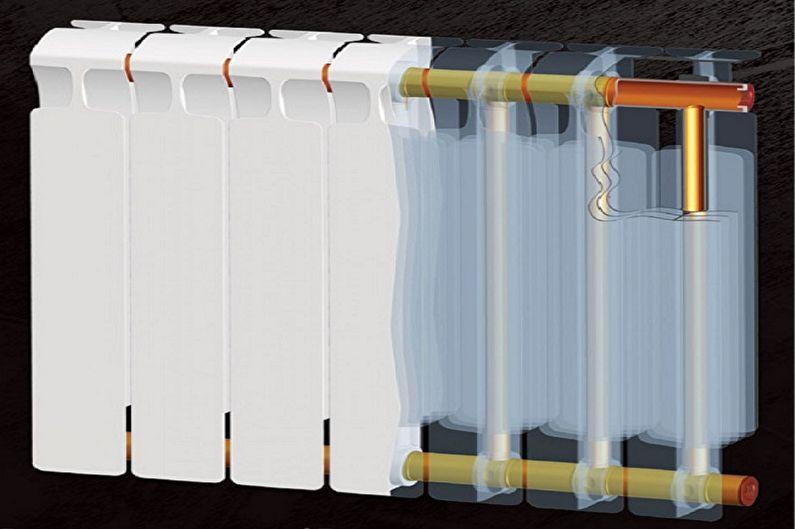 Виды биметаллических радиаторов отопления - Монолитные радиаторы