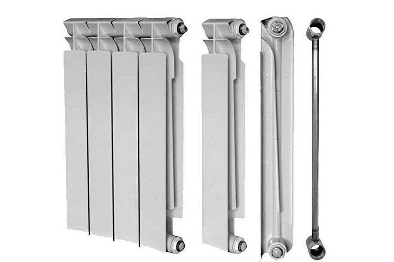 Виды биметаллических радиаторов отопления - Разборные радиаторы
