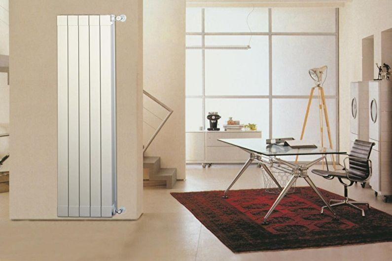 Биметаллические радиаторы отопления - Размер