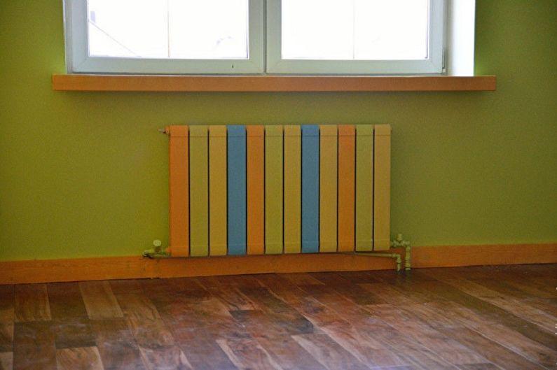 Биметаллические радиаторы отопления - Декор