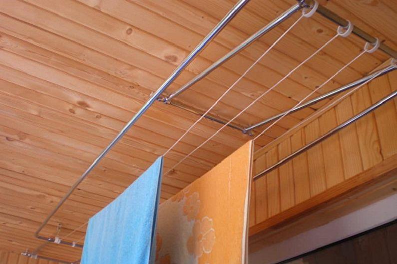 Потолочная сушилка для белья - Материалы для изготовления