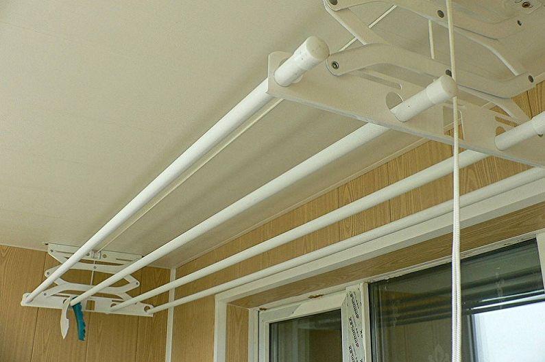 Конструкции потолочных сушилок для белья - Раскладные сушилки
