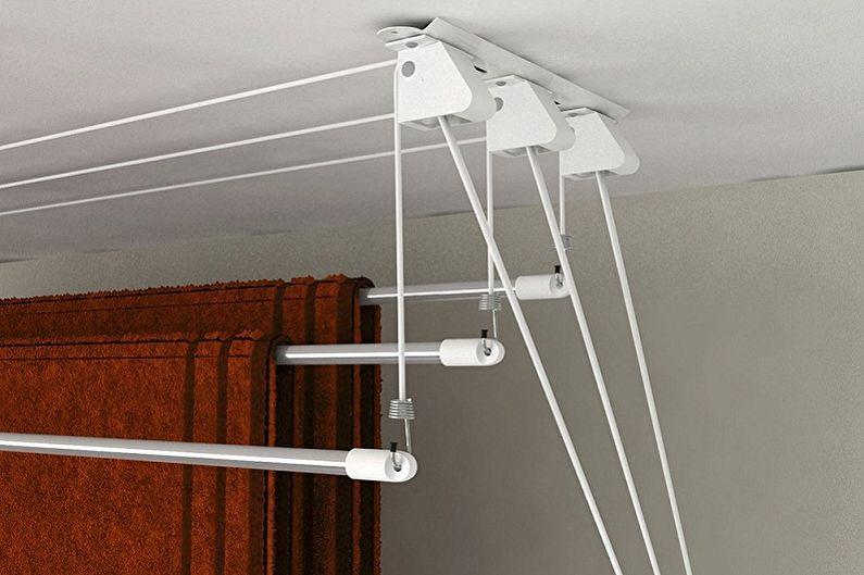 Конструкции потолочных сушилок для белья - Лианы
