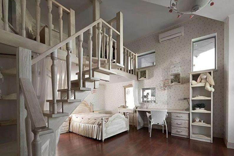 Перила для лестницы из дерева