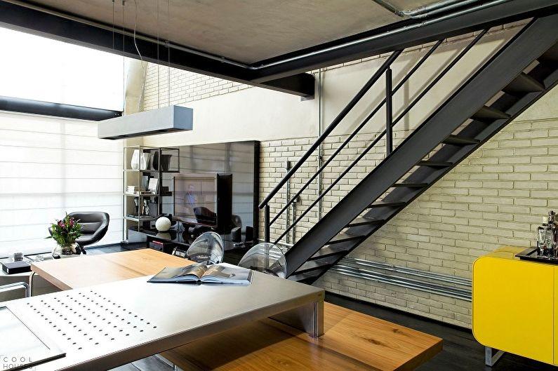 Перила для лестницы из металла
