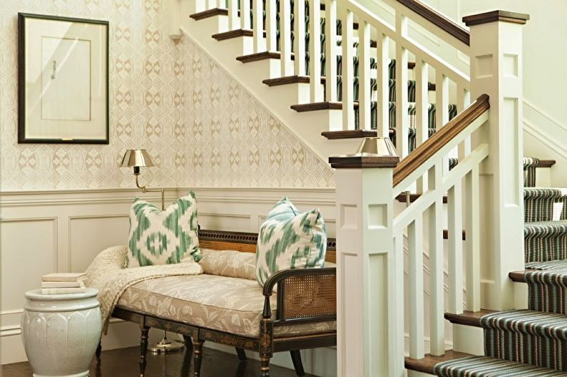 Дизайн перил для лестниц - Прованс