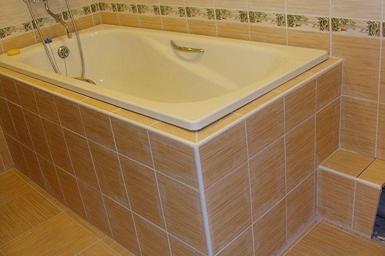 Экран для ванны своими руками