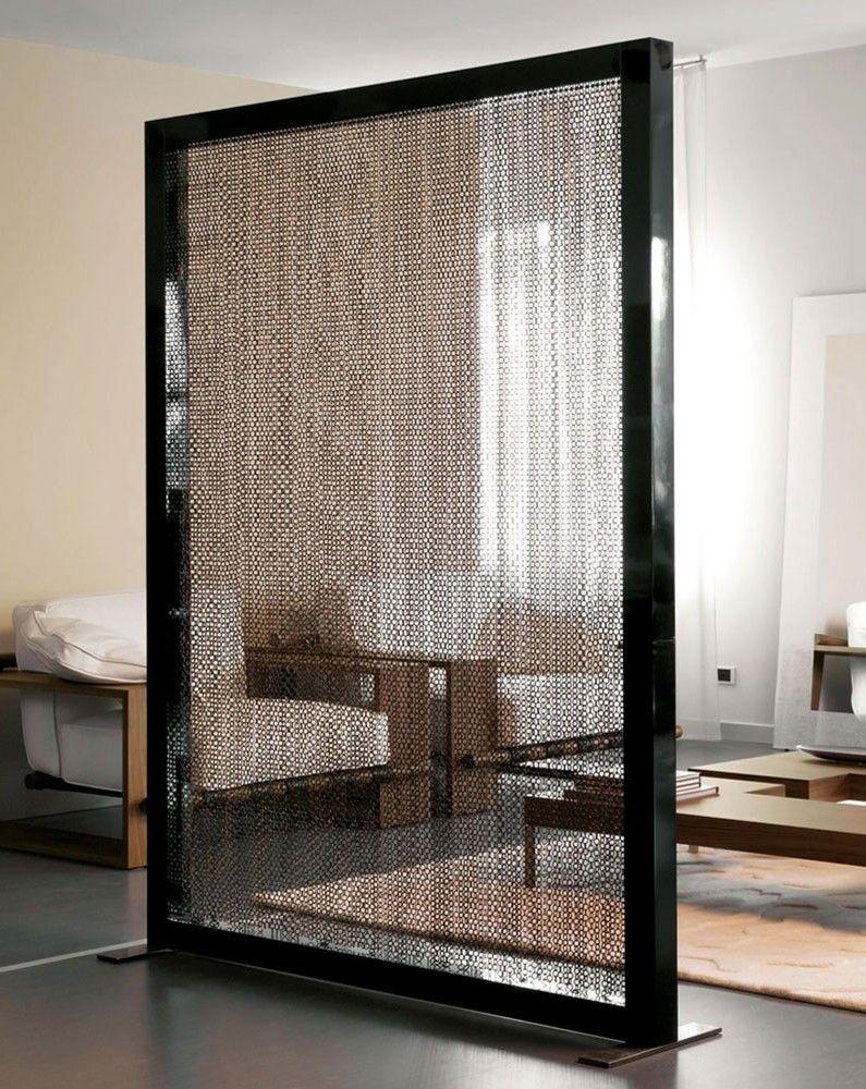 Виды и модели ширм для комнат - Одностворчатые ширмы