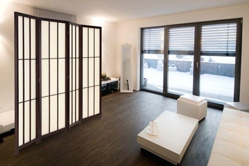 Ширма для комнаты в разных стилях интерьера