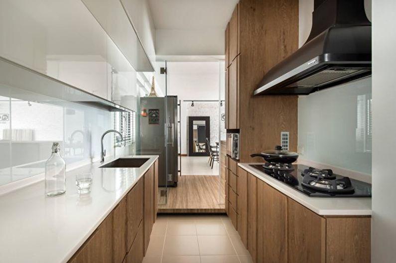Стеновые панели для кухни - Материалы