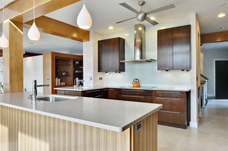Белые стеновые панели для кухни