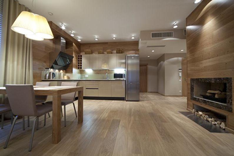 Стеновые панели для кухни - Установка