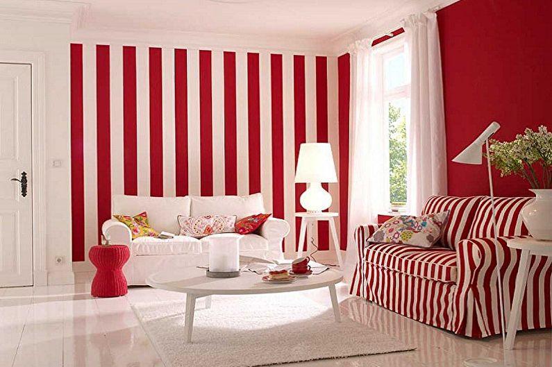 Белый с красным - С какими цветами сочетается красный