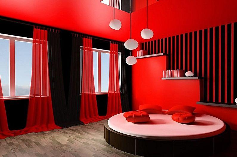 Черный с красным - С какими цветами сочетается красный