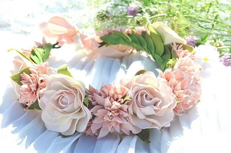 Роза из фоамирана - Применение