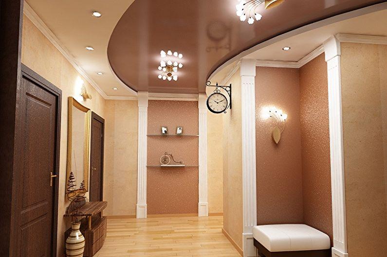 Дизайн коридора - Отделка