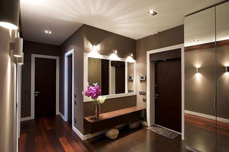 Дизайн коридора - Освещение