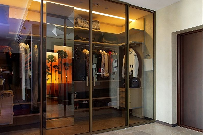 Дизайн коридора - Мебель
