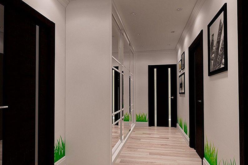 Дизайн коридора - Декор