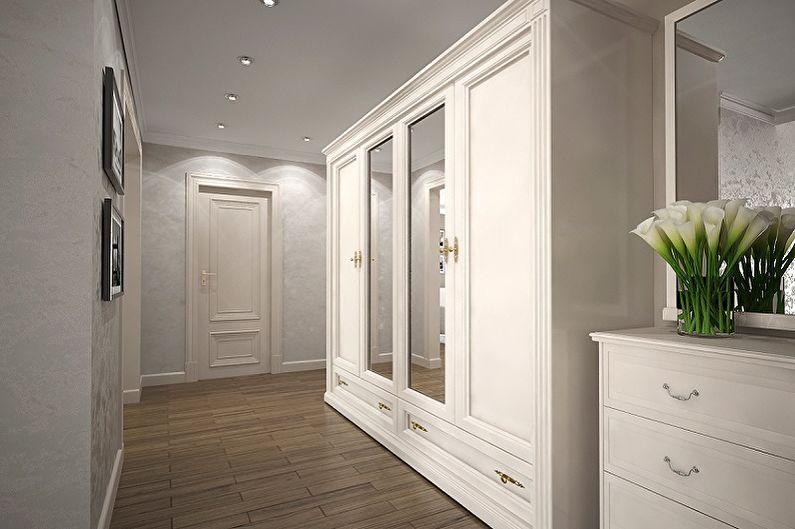 Дизайн интерьера коридора в квартире - фото