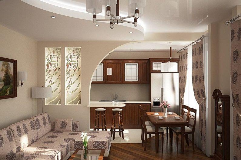 Дизайн зала в квартире - Маленькая гостиная
